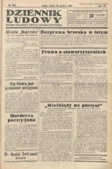 Dziennik Ludowy : organ Polskiej Partij Socjalistycznej. 1932, nr282