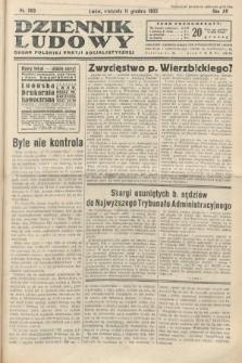Dziennik Ludowy : organ Polskiej Partij Socjalistycznej. 1932, nr283