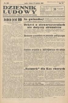 Dziennik Ludowy : organ Polskiej Partij Socjalistycznej. 1932, nr290