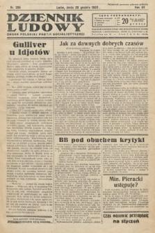 Dziennik Ludowy : organ Polskiej Partij Socjalistycznej. 1932, nr295