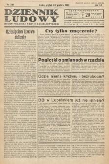 Dziennik Ludowy : organ Polskiej Partij Socjalistycznej. 1932, nr297