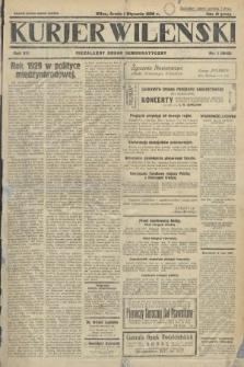 Kurjer Wileński : niezależny organ demokratyczny. 1930, nr1