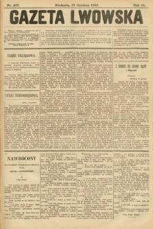 Gazeta Lwowska. 1899, nr287