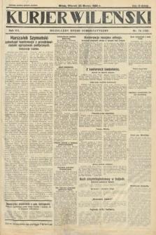 Kurjer Wileński : niezależny organ demokratyczny. 1930, nr70