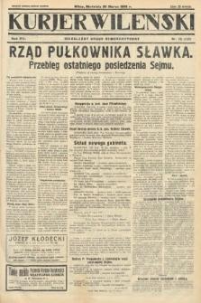 Kurjer Wileński : niezależny organ demokratyczny. 1930, nr75