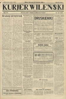 Kurjer Wileński : niezależny organ demokratyczny. 1930, nr87