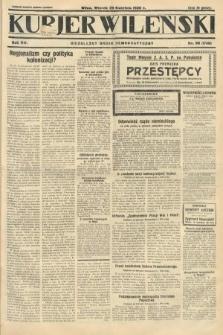 Kurjer Wileński : niezależny organ demokratyczny. 1930, nr98