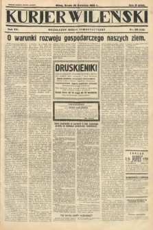 Kurjer Wileński : niezależny organ demokratyczny. 1930, nr99