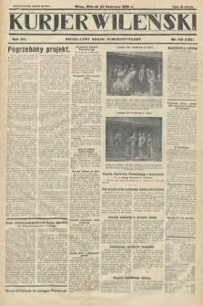 Kurjer Wileński : niezależny organ demokratyczny. 1930, nr142