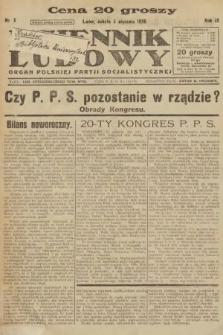 Dziennik Ludowy : organ Polskiej Partji Socjalistycznej. 1926, nr2