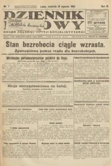 Dziennik Ludowy : organ Polskiej Partji Socjalistycznej. 1926, nr7