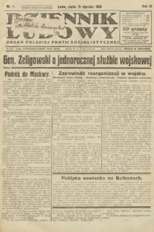 Dziennik Ludowy : organ Polskiej Partji Socjalistycznej. 1926, nr11