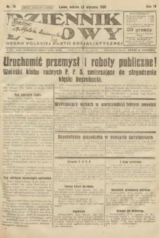 Dziennik Ludowy : organ Polskiej Partji Socjalistycznej. 1926, nr18