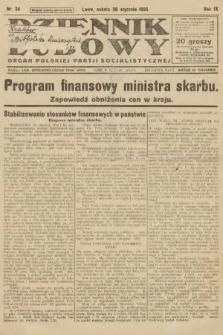 Dziennik Ludowy : organ Polskiej Partji Socjalistycznej. 1926, nr24