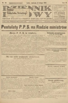 Dziennik Ludowy : organ Polskiej Partji Socjalistycznej. 1926, nr42