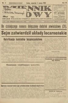 Dziennik Ludowy : organ Polskiej Partji Socjalistycznej. 1926, nr51