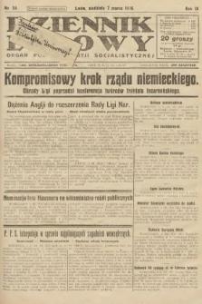Dziennik Ludowy : organ Polskiej Partji Socjalistycznej. 1926, nr54
