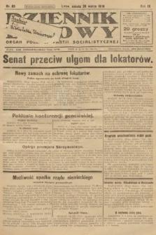 Dziennik Ludowy : organ Polskiej Partji Socjalistycznej. 1926, nr65