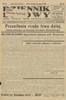 Dziennik Ludowy : organ Polskiej Partji Socjalistycznej. 1926, nr72