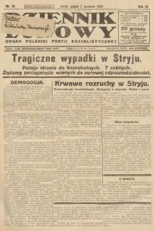 Dziennik Ludowy : organ Polskiej Partji Socjalistycznej. 1926, nr76
