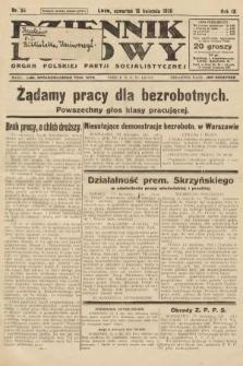 Dziennik Ludowy : organ Polskiej Partji Socjalistycznej. 1926, nr85