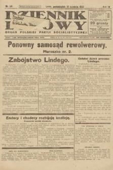 Dziennik Ludowy : organ Polskiej Partji Socjalistycznej. 1926, nr89