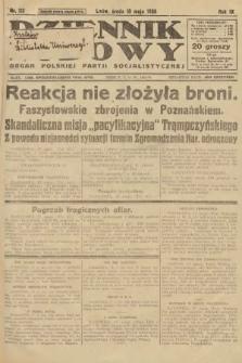 Dziennik Ludowy : organ Polskiej Partji Socjalistycznej. 1926, nr113