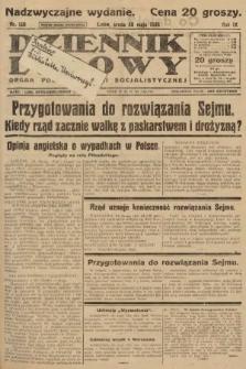 Dziennik Ludowy : organ Polskiej Partji Socjalistycznej. 1926, nr120