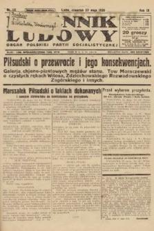 Dziennik Ludowy : organ Polskiej Partji Socjalistycznej. 1926, nr121