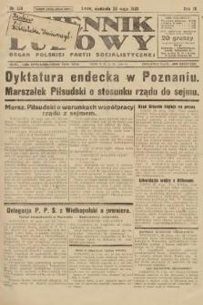 Dziennik Ludowy : organ Polskiej Partji Socjalistycznej. 1926, nr124