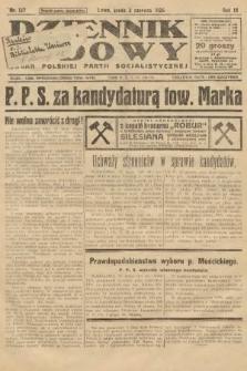 Dziennik Ludowy : organ Polskiej Partji Socjalistycznej. 1926, nr127