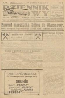 Dziennik Ludowy : organ Polskiej Partji Socjalistycznej. 1926, nr137