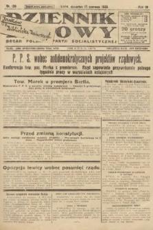 Dziennik Ludowy : organ Polskiej Partji Socjalistycznej. 1926, nr139