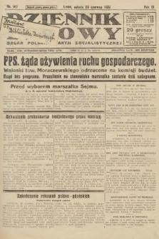 Dziennik Ludowy : organ Polskiej Partji Socjalistycznej. 1926, nr147