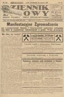 Dziennik Ludowy : organ Polskiej Partji Socjalistycznej. 1926, nr149