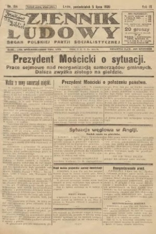 Dziennik Ludowy : organ Polskiej Partji Socjalistycznej. 1926, nr154