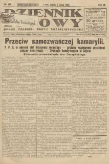 Dziennik Ludowy : organ Polskiej Partji Socjalistycznej. 1926, nr155