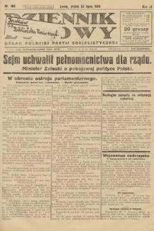 Dziennik Ludowy : organ Polskiej Partji Socjalistycznej. 1926, nr169