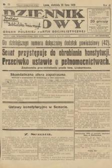 Dziennik Ludowy : organ Polskiej Partji Socjalistycznej. 1926, nr171