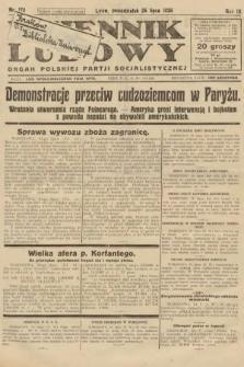 Dziennik Ludowy : organ Polskiej Partji Socjalistycznej. 1926, nr172