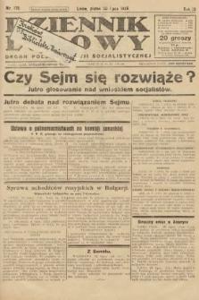 Dziennik Ludowy : organ Polskiej Partji Socjalistycznej. 1926, nr175