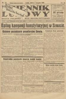 Dziennik Ludowy : organ Polskiej Partji Socjalistycznej. 1926, nr182