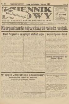 Dziennik Ludowy : organ Polskiej Partji Socjalistycznej. 1926, nr184