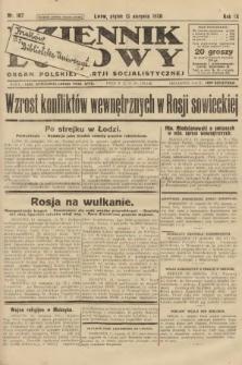 Dziennik Ludowy : organ Polskiej Partji Socjalistycznej. 1926, nr187