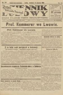 Dziennik Ludowy : organ Polskiej Partji Socjalistycznej. 1926, nr189