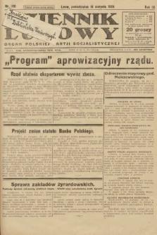 Dziennik Ludowy : organ Polskiej Partji Socjalistycznej. 1926, nr190