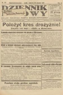 Dziennik Ludowy : organ Polskiej Partji Socjalistycznej. 1926, nr198