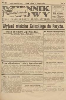 Dziennik Ludowy : organ Polskiej Partji Socjalistycznej. 1926, nr199