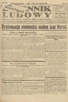 Dziennik Ludowy : organ Polskiej Partji Socjalistycznej. 1926, nr200