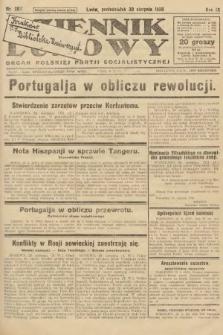 Dziennik Ludowy : organ Polskiej Partji Socjalistycznej. 1926, nr202